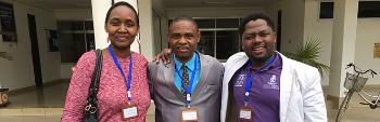 Photo of Loreen Maseno, Elia Mligo and Zoro Dube.