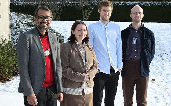Photo of new phd fellows