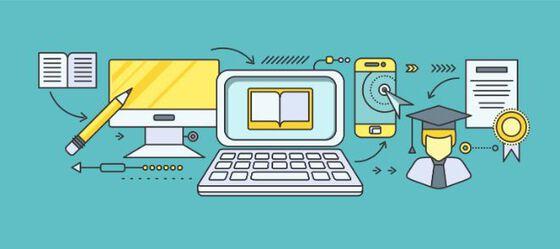 illustrasjon digital læring